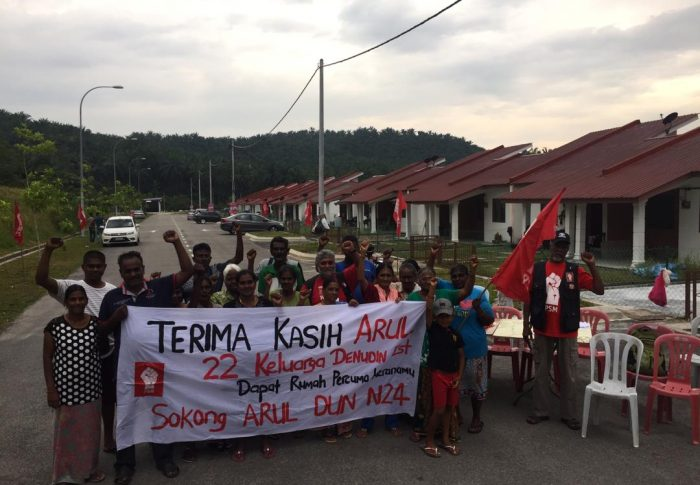24 families of estate workers given new homes in Semenyih