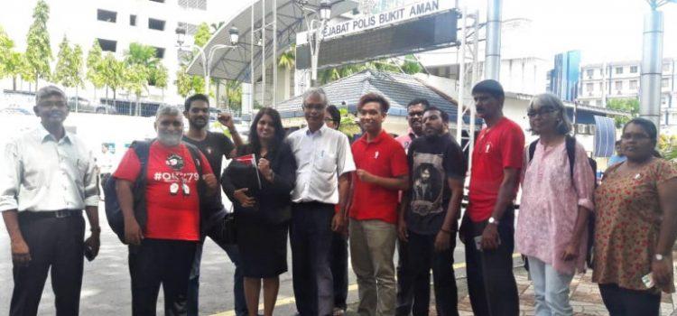 Dr Kumar disiasat kerana Perhimpunan Memperingati Perjanjian Damai Hatyai