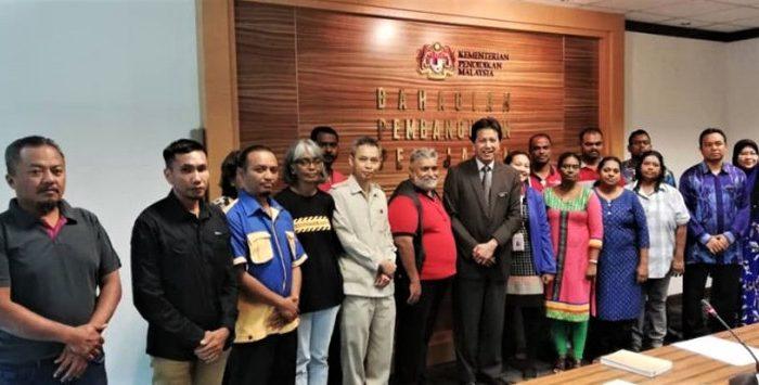 5 isu pekerja kontrak di sekolah kerajaan dibangkitkan dalam pertemuan dengan KPM